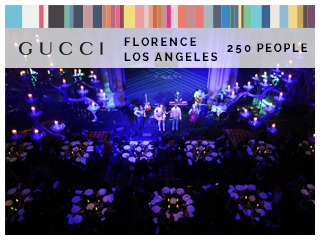 GUCCI FLORENCE LOS ANGELES 250 PEOPLE